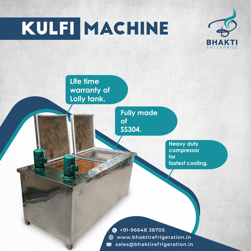 Khoya Kulfi making machine