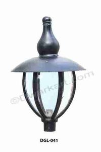 Lotus Cast Iron Light Fitting