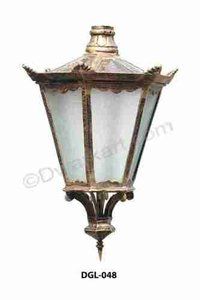 Globstar Cast Iron Light Fitting