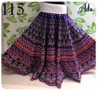 Heavy Printed Skirt