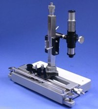 Best QualityTravelling Microscope Vertical & Horizontal with wooden