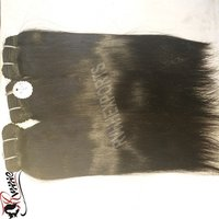 Straight Virgin Tape Human Hair Extensions