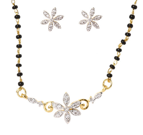 Little Flower Mangalsutra