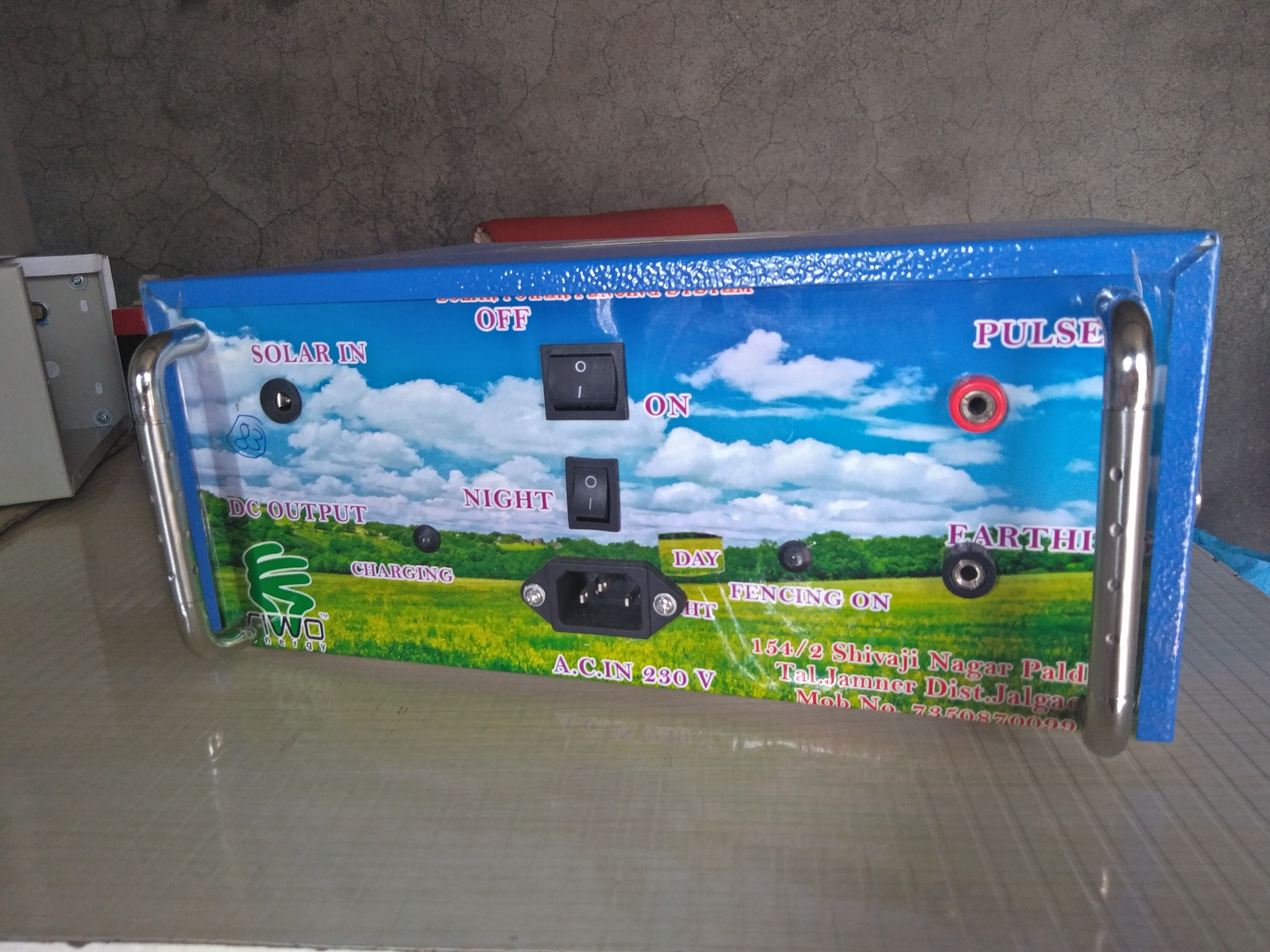 Mini Solar Zatka Machine