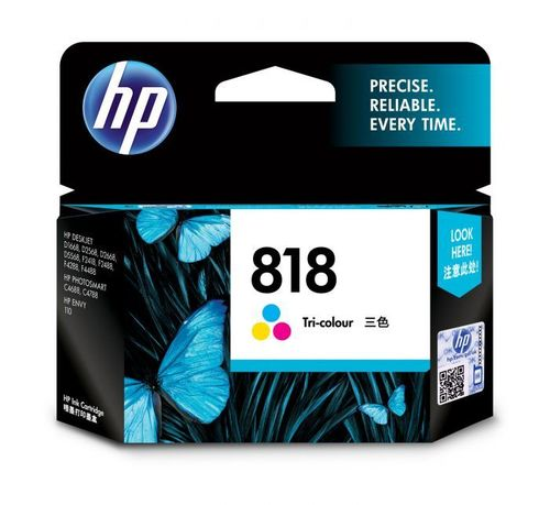HP 818 COLOR INK CARTRIDGE (CC643ZZ)
