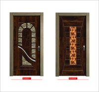 Digital laminated door