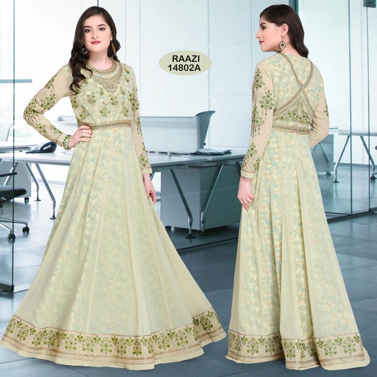 Long Anarkali Designer Suits