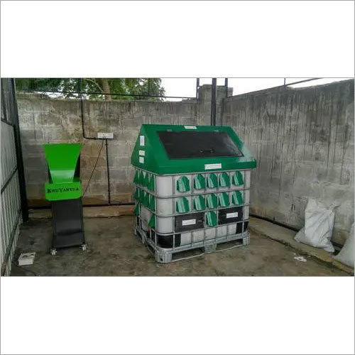 Food waste composting machine