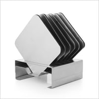 Stainless Steel Square Coaster