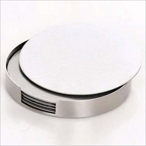 Stainless Steel Round Coaster