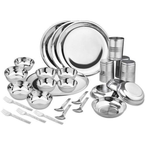 28 Pieces Stainless Steel Dinner Set