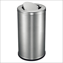 Stainless Steel Swing Dustbin