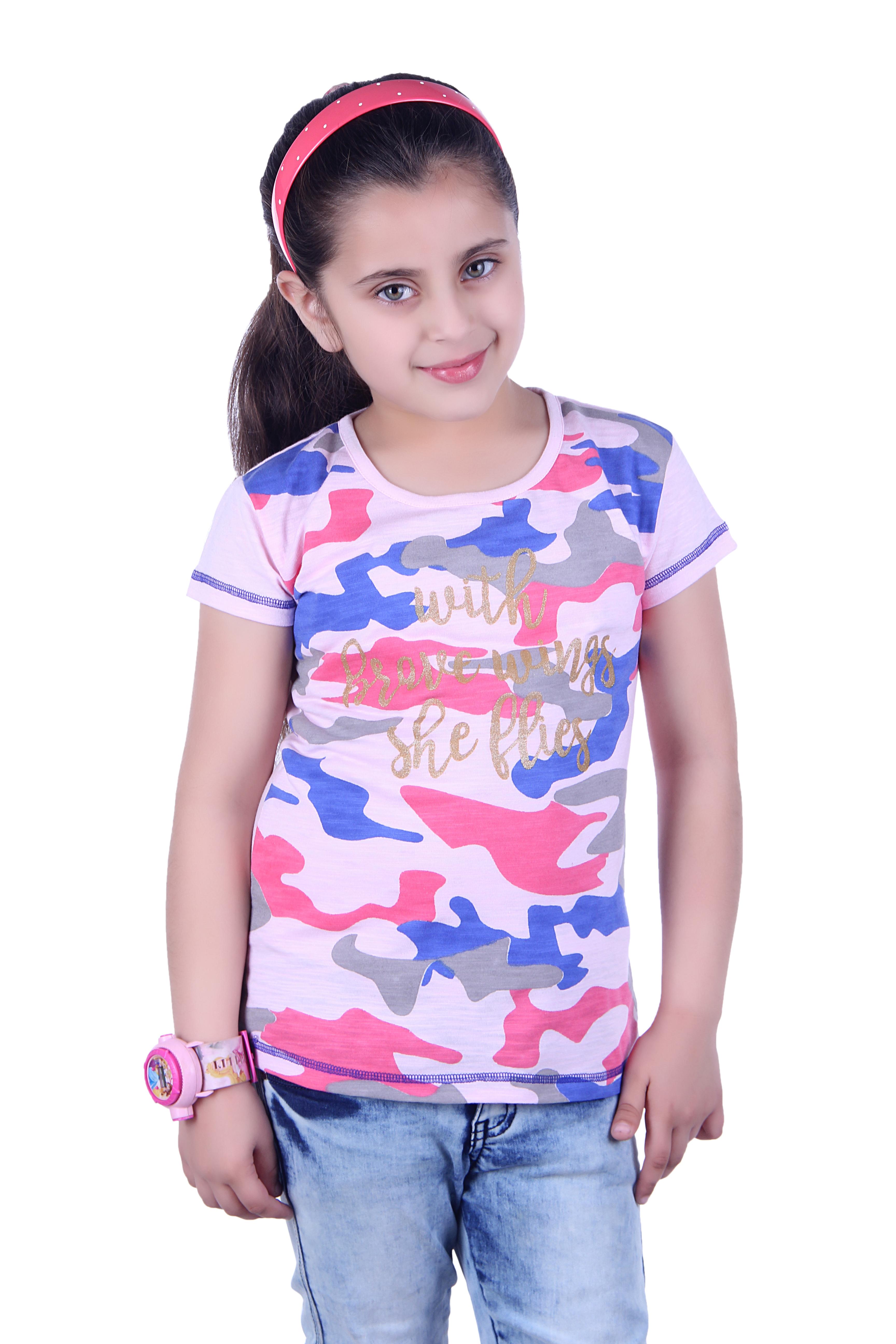 Girl Printed top