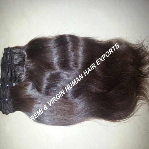 100% cuticle aligned drawn straight virgin human hair