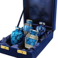 Blue Keepsake Cremation Urn