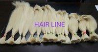 human hair ponytail.