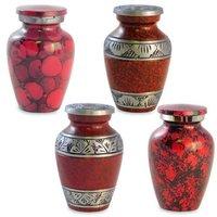 Keepsake Urn For Ashes / Brass Keepsake Urn
