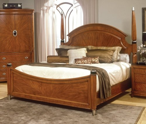 Wooden bed 4