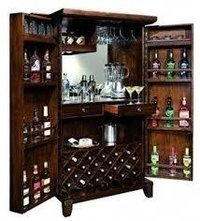 WOODEN BAR CABINETS