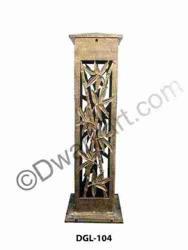Leaf Design Cast Iron Bollard