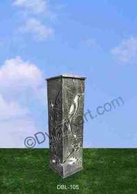 Bird Design Cast Iron Bollard