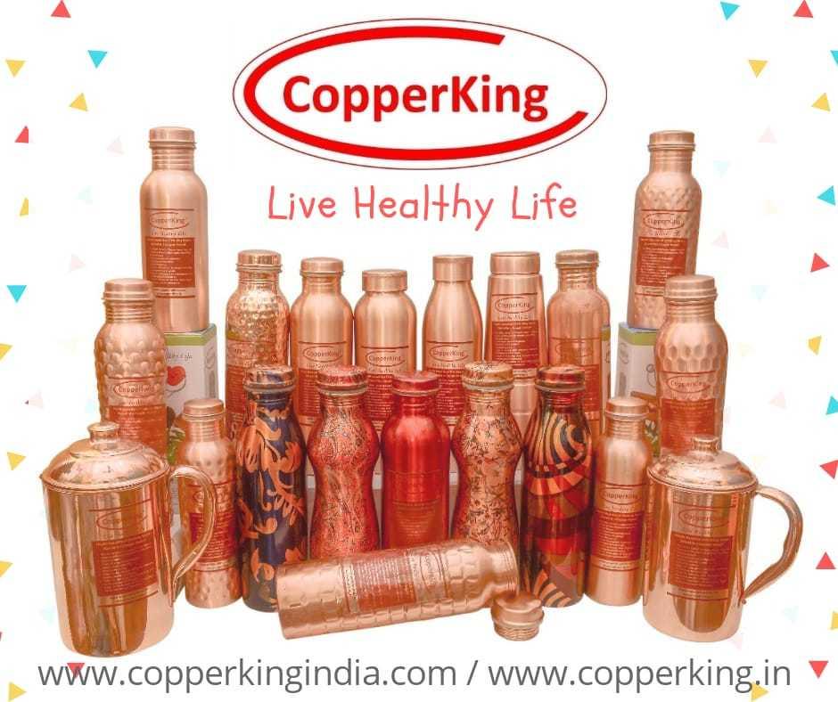 Printed Copper Bottle (MilK Bottle Shape)