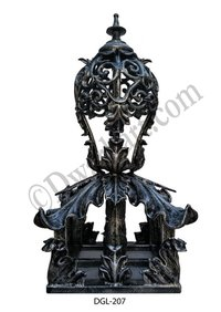 Stefan Cast Iron Gate Light