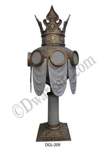 Indian Design Cast Iron Gate Light