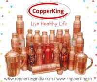 Printed Copper Bottle (MilK Bottle Shape)