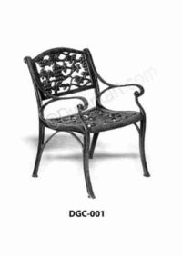 Botnical Design Cast Iron Garden Chair