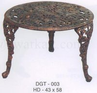Roman Antique Cast Iron Garden Table
