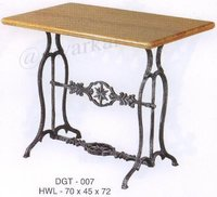 Christy Cast Iron Garden Table