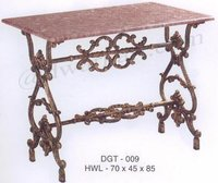 Greeko Antique Cast Iron Garden Table