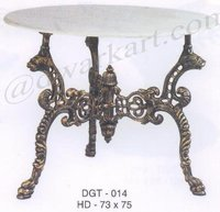 Soumya Cast Iron Garden Table