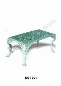 Havana Cast Iron Garden Table