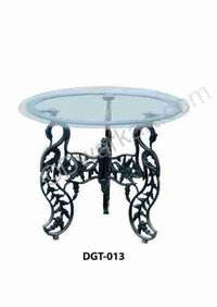 Surya Cast Iron Garden Table