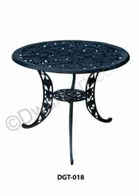 Polish Design Cast Iron Garden Table