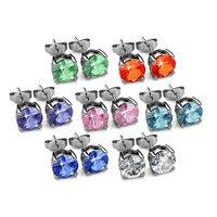 18K Platinum Plated Earrings Set