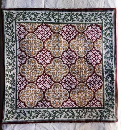 Rajasthani Print Cushion Cover