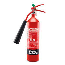 Portable Carbon Dioxide Fire Extinguisher