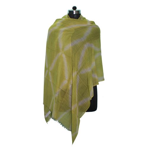 Tie Dye Yellow Scarve