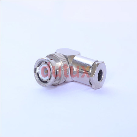 BNC MALE RIGHT ANGLE CLAMP TYPE