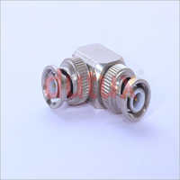 BNC MALE TO BNC MALE RIGHT ANGLE ADAPTER
