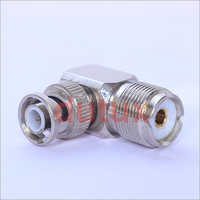 Bnc Male To Uhf Female Right Angle Connector