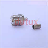 UHF FEMALE CRIMP TYPE CONNECTOR