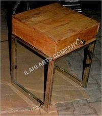 Iron Base Metal Table