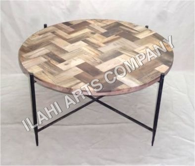 metal garden stool