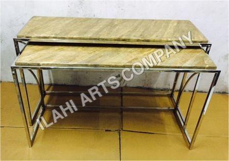 Metal office bench