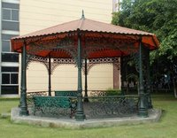 Antique Cast Iron Garden Gazebo