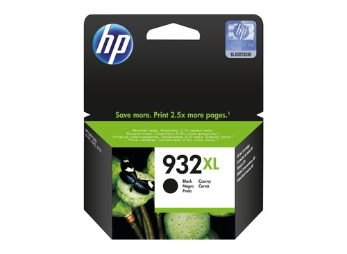 HP 932XL BLACK INK CARTRIDGE (CN053AA)